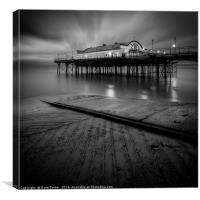 Cleethorpes Pier, Lincolnshire, Canvas Print