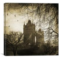 London, Tower Bridge, Canvas Print