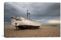 Two Belles, Aldeburgh Beach, Suffolk, Canvas Print