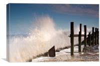 Wall Of Water, Canvas Print