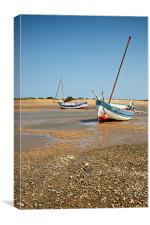 Awaiting the tide, Canvas Print