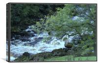 Waterfall, Canvas Print