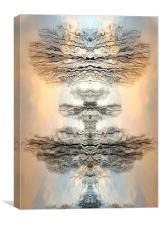 Artisitc, reflection, unique, Canvas Print