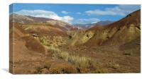 Snake Valley, Canvas Print