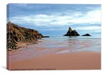 Church Rock,Broadhaven., Canvas Print