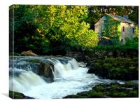 The Old Mill., Canvas Print
