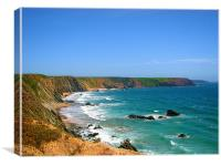 Marloes Sands.South., Canvas Print