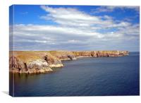 Stackpole Headland.Pembrokeshire.Wales.