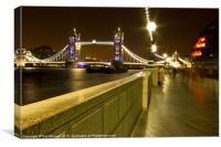 Meet Me At The Bridge, Canvas Print