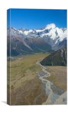 Southern Alps, Canvas Print