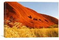 Sacred Uluru, Canvas Print