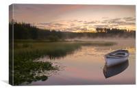 Trossachs dawn..., Canvas Print