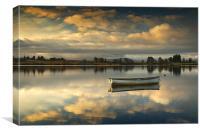 Loch Rusky summer sun..., Canvas Print
