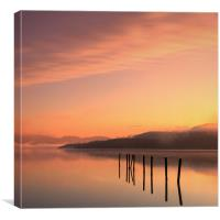 Loch Lomond from Duck Bay, Canvas Print