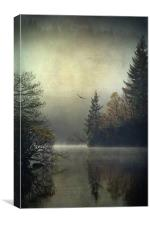 Land of the Raptors..., Canvas Print