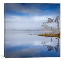 Loch Ard , Trossachs, Canvas Print