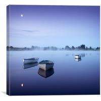 Loch Rusky , Trossachs, Canvas Print