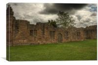 Ludlow Castle, Shropshire, Canvas Print