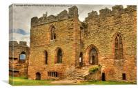 Ludlow Castle (2) - Shropshire, Canvas Print