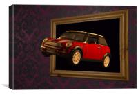 Flying Mini, Canvas Print