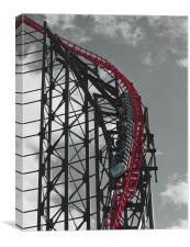 The Big One, Blackpool Pleasure Beach, Canvas Print