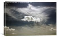 Solitary Cloud, Canvas Print