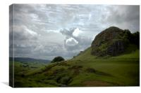 Loudon Hill, Canvas Print