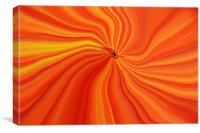 Orange Abstract, Canvas Print