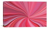 Pink Abstract Art, Canvas Print