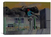 Grunge, Canvas Print