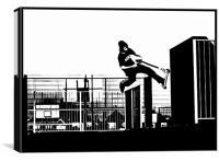 Stunt Print, Canvas Print