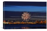 Fireworks for Adonia, Canvas Print