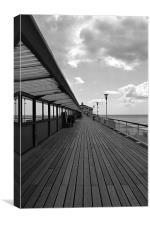 Pier Walk, Canvas Print