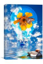 Flowering Bulb, Canvas Print