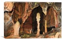 Cave Formations, Canvas Print