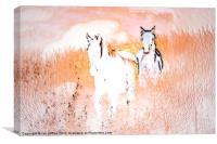 Running Free, Canvas Print