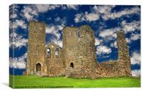 Reculver Castle - Kent, Canvas Print