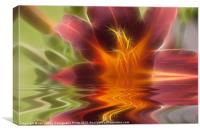 Reflective Flora, Canvas Print