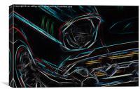 Chevrolet, Canvas Print