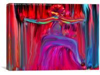 The Dancing Man, Canvas Print