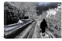 Long walk, Canvas Print