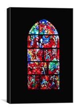 Stained Glass, Canvas Print