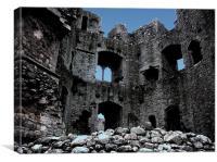 Castle Ruin, Canvas Print