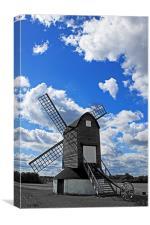 Pitstone Windmill, Canvas Print
