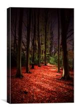 Autumn Carpet, Canvas Print