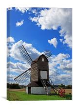 Pitstone Windmill, Canvas Print