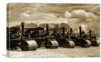 Steam Rollers 2, Canvas Print