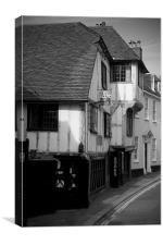 Book Shop, Canvas Print