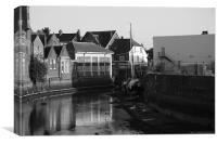 River ouse Lewes, Canvas Print