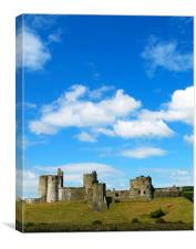 Kidwelly Castle, Canvas Print